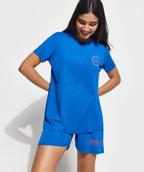 T-Shirt--Change-Your-Mindset--Manga-Curta-Decote-Careca-Mindset-Azul-Royal-9993027-Azul_Royal_1