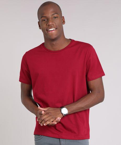 Camiseta-Masculina-Basica-Manga-Longa-Gola-Careca-Vinho-8961140-Vinho_1