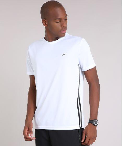 Camiseta Masculina Esportiva Ace Basic Dry Manga Curta Gola Careca ... baeeb4ddaa5