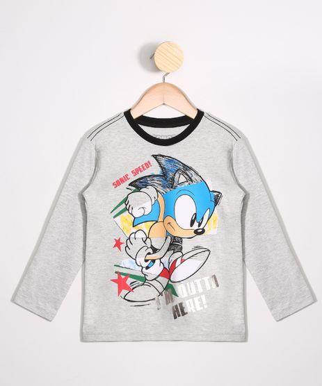 Camiseta-Infantil-Sonic-Manga-Longa-Gola-Careca-Cinza-Mescla-Claro-9988695-Cinza_Mescla_Claro_1