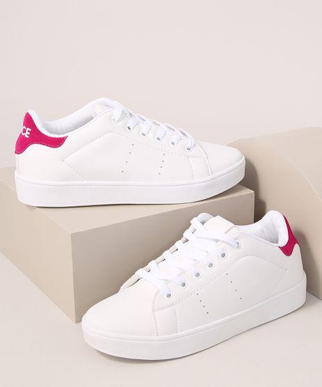 Tenis-Feminino-Esportivo-Ace-com-Recorte-Posterior-Contrastante-Branco-9993672-Branco_1
