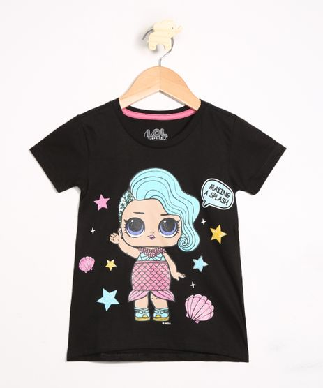 Blusa-Infantil-LOL-Surprise-Manga-Curta-Decote-Redondo-Preta-9990272-Preto_1