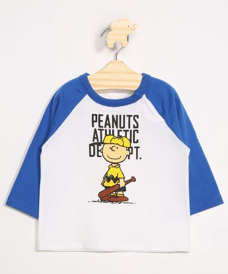 Camiseta-Infantil-Raglan-Charlie-Brown-Manga-Longa-Gola-Careca-Off-White-9979680-Off_White_1