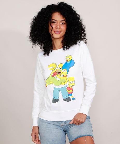 Blusao-de-Moletom-Os-Simpsons-Decote-Redondo-Off-White-9983707-Off_White_1