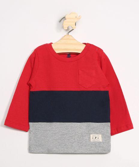 Camiseta-Infantil-com-Recortes-e-Bolso-Manga-Longa-Gola-Careca-Vermelha-9980225-Vermelho_1