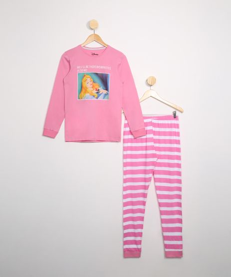 Pijama-Juvenil-Bela-Adormecida-Manga-Longa-Rosa-9978341-Rosa_1