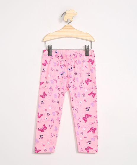 Calca-Legging-Infantil-Estampada-de-Borboletas-Rosa-9981234-Rosa_1