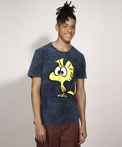 Camiseta-Woodstock-Marmorizada-Manga-Curta-Gola-Careca-Azul-9986394-Azul_1