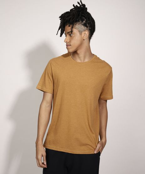 Camiseta-Basica-Manga-Curta-Gola-Careca-Marrom-9979817-Marrom_1