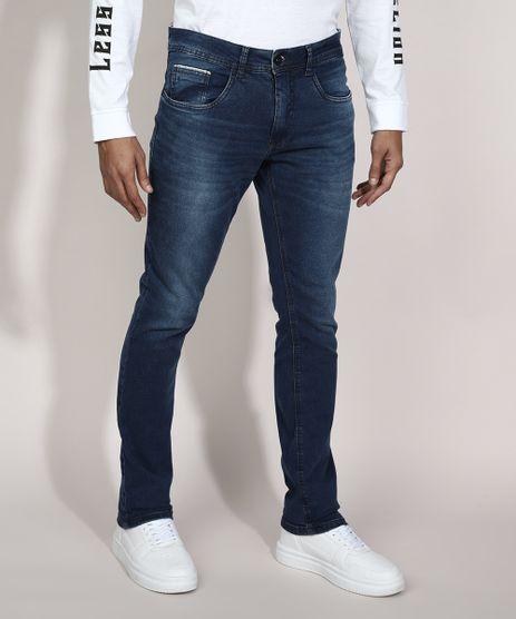 Calca-Slim-Jeans-com-Bolsos-Azul-Escuro-9982599-Azul_Escuro_1