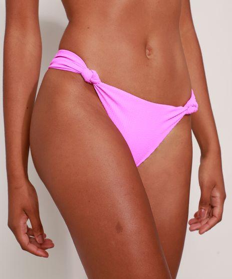 Biquini-Calcinha-Canelado-com-No-e-Franzido-Protecao-UV50--Pink-9990884-Pink_1