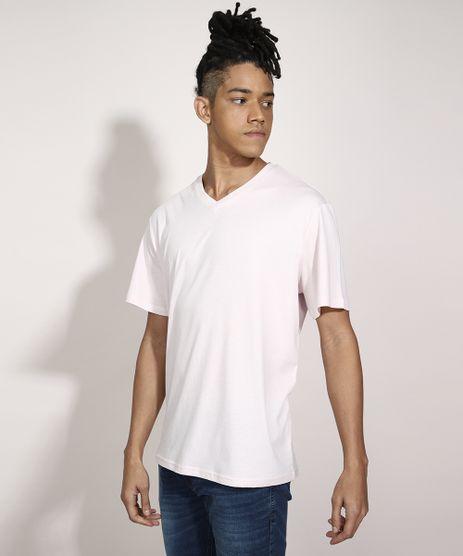 Camiseta-Basica-Manga-Curta-Gola-V-Rosa-Claro-9944202-Rosa_Claro_1