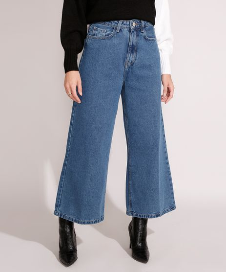Calca-Wide-Cropped-Jeans-Cintura-Super-Alta-Azul-Medio-9991647-Azul_Medio_1