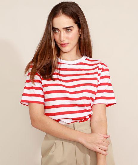T-Shirt-Listrada-Manga-Curta-Decote-Redondo-Mindset-Vermelha-9983582-Vermelho_1