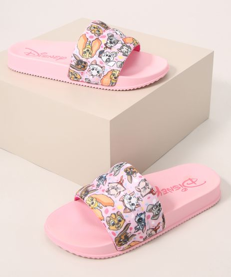 Chinelo-Slide-Infantil-Acolchoado-Pets-Disney-Grendene-Rosa-9991138-Rosa_1