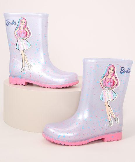 Galocha-Infantil-Barbie-Cano-Alto-com-Brilho-Grendene-Branca-9991143-Branco_1