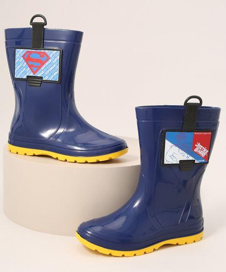 Galocha-Infantil-Super-Homem-Cano-Alto-Grendene-Azul-9986799-Azul_1