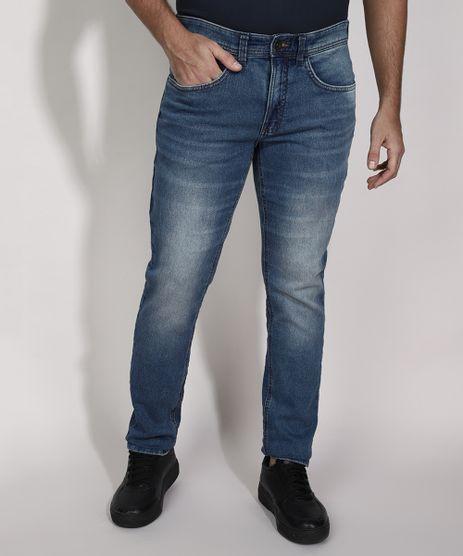 Calca-Slim-Jeans-com-Bolsos-Azul-Medio-9982029-Azul_Medio_1