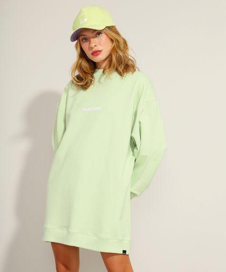 Vestido-Oversized-de-Moletom-Curto-Manga-Longa-Pantone-Verde-Claro-9985818-Verde_Claro_1