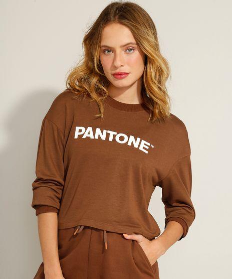 Camiseta-Cropped-Manga-Longa-Decote-Redondo-Pantone-Marrom-9985954-Marrom_1
