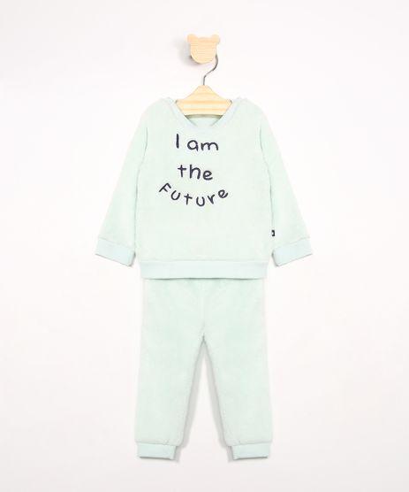 Conjunto-Infantil-de-Fleece-Blusao-com-Bordado---Calca-Jogger-Verde-Claro-9970956-Verde_Claro_1