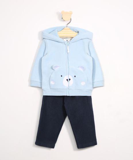Conjunto-Infantil-de-Fleece-Ursinho-Blusao-Azul---Calca-Jogger-Azul-Marinho-9972033-Azul_Marinho_1