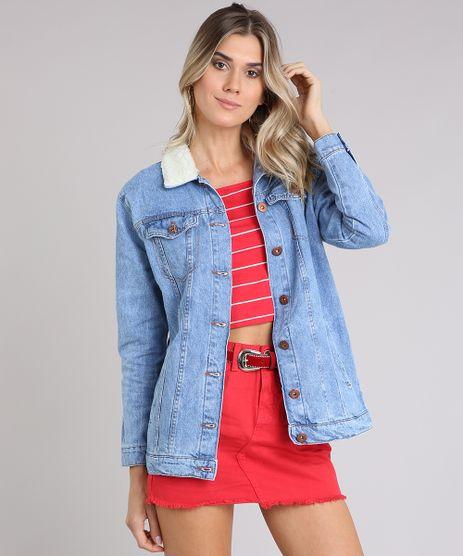 Jaqueta-Jeans-Oversized-com-Pelos-Azul-Medio-8535668-Azul_Medio_1