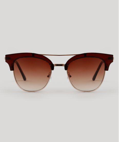 Oculos-de-Sol-Quadrado-Feminino-Oneself-Marrom-9224768-Marrom_1