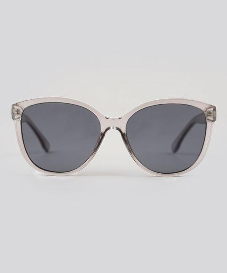 aef9e8ce0cedc Oculos-de-Sol-Quadrado-Feminino-Oneself-Cinza-9239763-