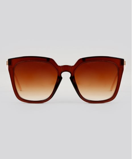 Oculos-de-Sol-Quadrado-Feminino-Oneself-Marrom-9224720-Marrom_1