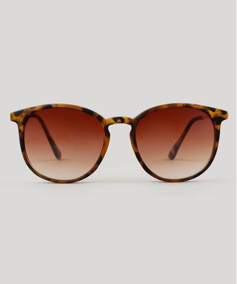 Oculos-de-Sol-Redondo-Feminino-Oneself-Tartaruga-9224747-Tartaruga_1
