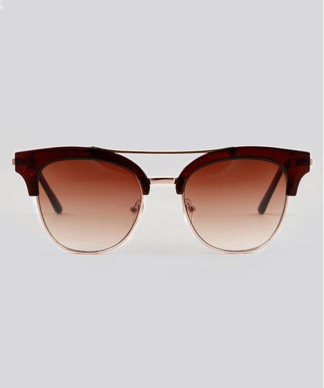 Oculos-de-Sol-Quadrado-Feminino-Oneself-Marrom-9224741-Marrom_1