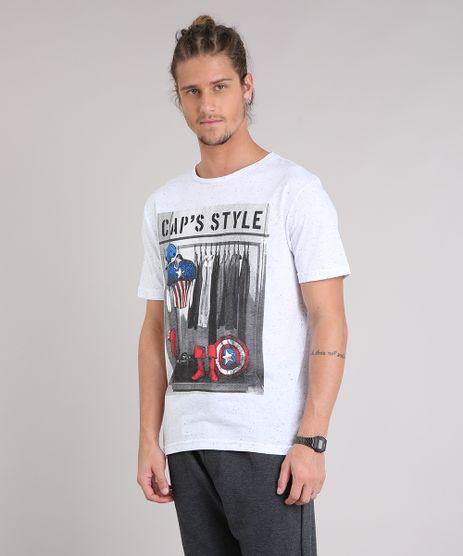 Camiseta-Masculina--Cap-s-Style--Capitao-America-Manga-Curta-Gola-Careca-Off-White-9223854-Off_White_1