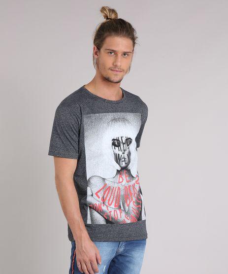 Camiseta-Masculina--There-Will-Be-Loud-Beat--Manga-Curta-Gola-Careca-Cinza-Mescla-Escuro-9223823-Cinza_Mescla_Escuro_1