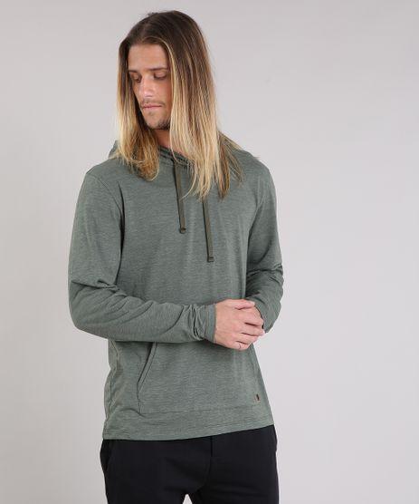 Camiseta-Masculina-com-Capuz-e-Bolso-Manga-Longa-Verde-9189204-Verde_1