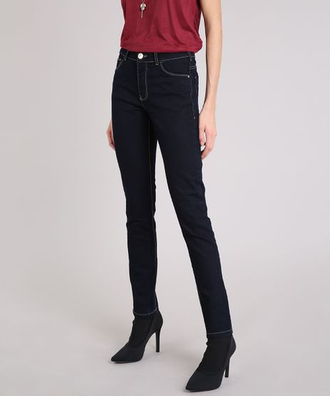 233f9cde4 Calca-Jeans-Feminina-Skinny-com-Algodao---Sustentavel-