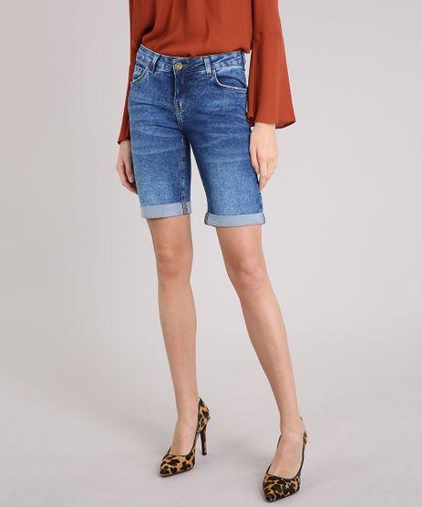 Bermuda-Jeans-Feminina-Ciclista-Barra-Dobrada-Azul-Medio-9212170-Azul_Medio_1