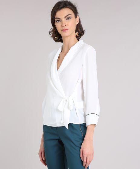 Camisa-Feminina-Transpassada-Manga-Longa-Decote-V-Off-White-9082204-Off_White_1