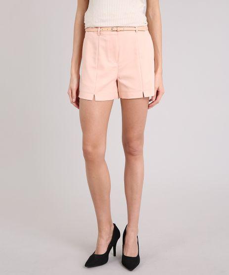 Short-Feminino-com-Cinto-Rose-9081600-Rose_1