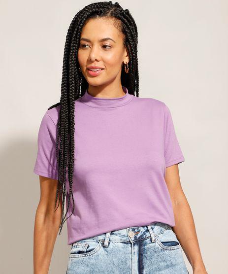 Camiseta-Basica-Gola-Alta-Manga-Curta-Lilas-9986425-Lilas_1