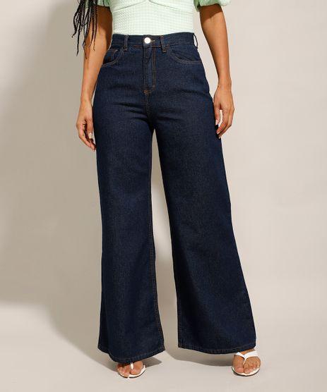 Calca-Wide-Pantalona-Jeans-Cintura-Super-Alta-Azul-Escuro-9992221-Azul_Escuro_1