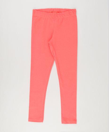 Calca-Infantil-Legging-Basica-em-Algodao---Sustentavel-Coral-9222729-Coral_1