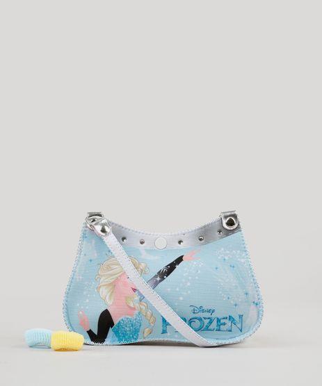 Bolsa-Infantil-Estampada-Elsa-Frozen---Elasticos-de-Cabelo-Azul-Claro-9127471-Azul_Claro_1