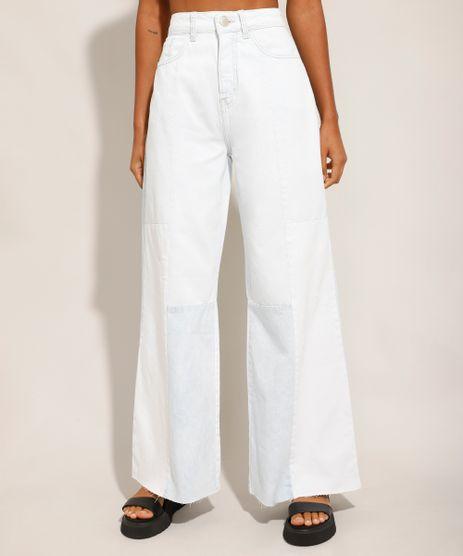 Calca-Wide-Pantalona-Jeans-com-Recortes-e-Barra-a-Fio-Cintura-Super-Alta-Azul-Claro-9994995-Azul_Claro_1