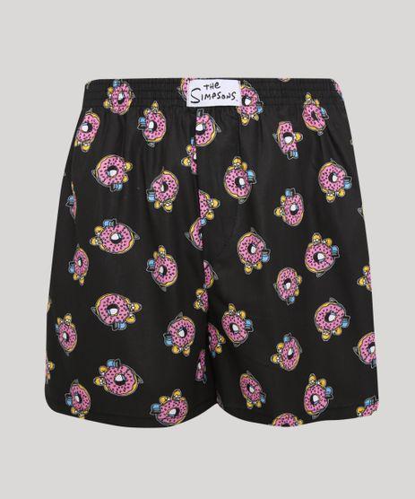 Samba-Cancao-Estampada-Os-Simpsons-Donuts-Preta-9857743-Preto_1