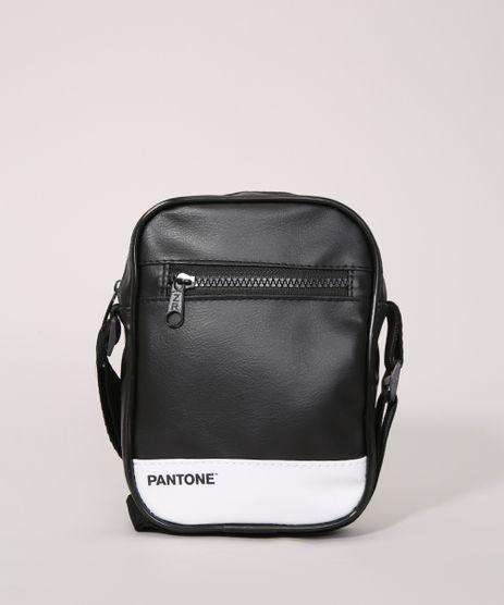 Bolsa-Shoulder-Bag-Transversal-Pequena-Pantone-Preta-9991700-Preto_1