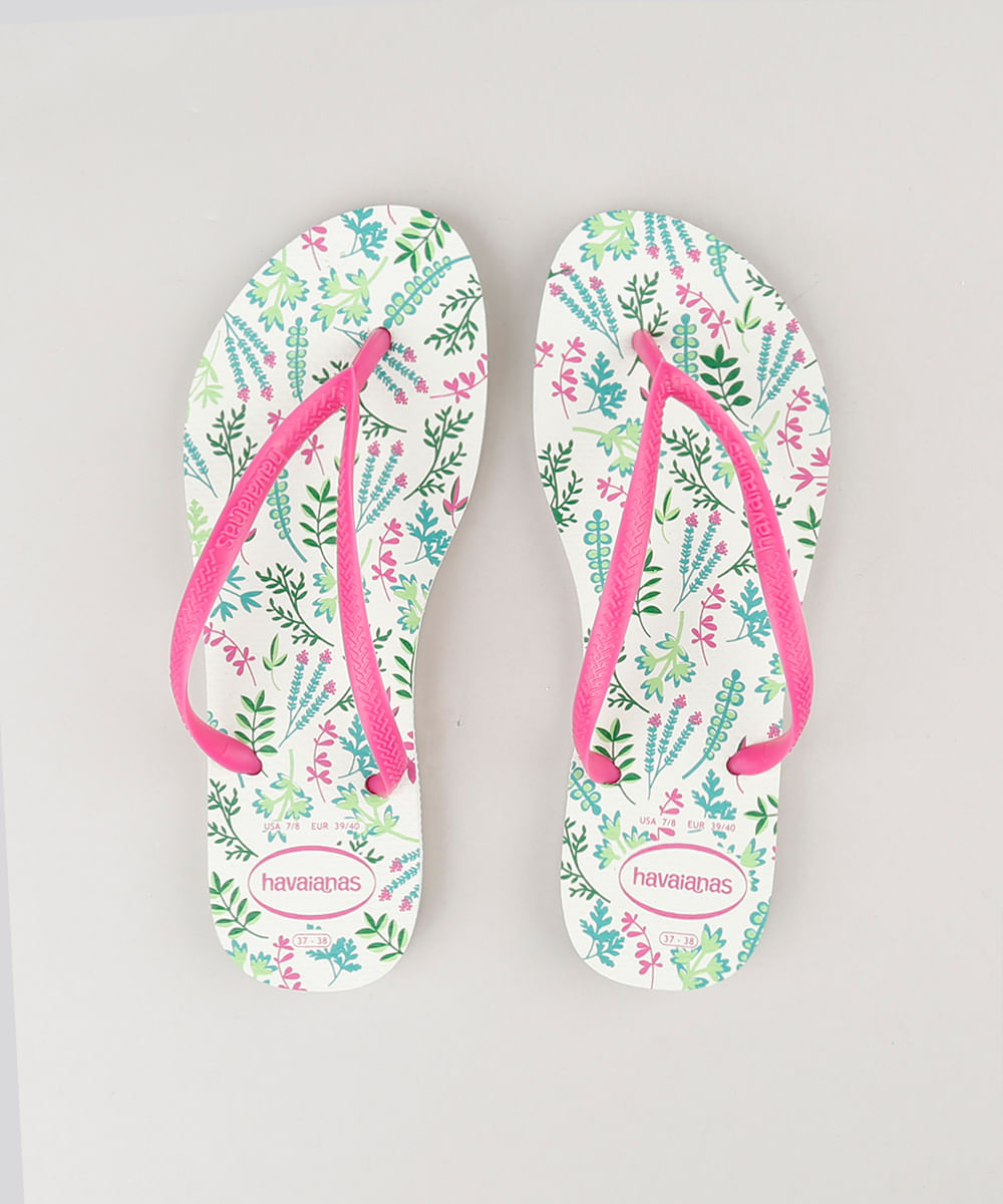 ... Chinelo-Feminino-Havaianas-Estampado-Floral-Off-White-9218950- 0d9f090dd0c19