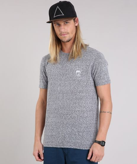 Camiseta-Masculina--Escape-From-Reality--Manga-Curta-Gola-Careca-Cinza-Mescla-9089518-Cinza_Mescla_1