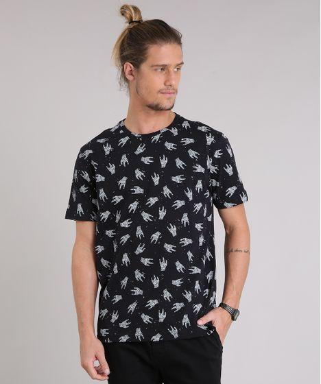 e6269aaf9849f Camiseta Masculina Estampada