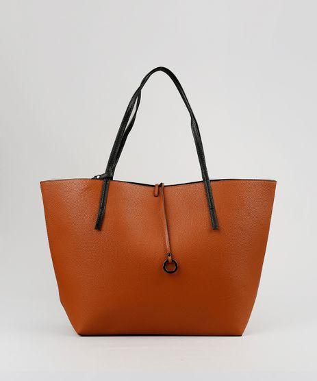 Bolsa-Feminina-Shopper-Dupla-Face-com-Necessaire-Marrom-8506427-Marrom_1
